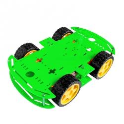 Șasiu Robot cu 4 Motoare (Verde)
