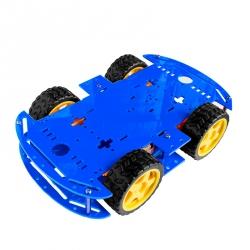 Șasiu Robot cu 4 Motoare (Albastru)