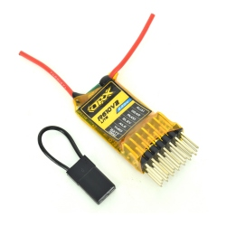 OrangeRX R610V2 Lite 2.4 GHz Receiver Compatible DSM2 With CPPM And 6 Channels