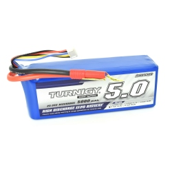 LiPo Turnigy Battery 5000 mAh 5S 25C (18.5 V)