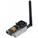 5.8 GHz Wireless Audio / Video Broadcast Transmitter with 8 Channels of 2000 mW for FPV