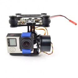 2-Way Stabilized Gimbal Module and GoPro Hero Mount Controller