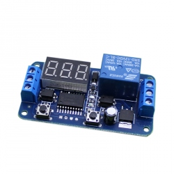 12 V Relay Module with Adjustable Delay (220 V)