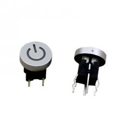 Buton de Pornire cu LED Alb
