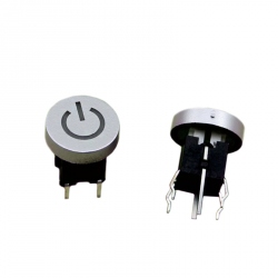 Power Button with Blue LED