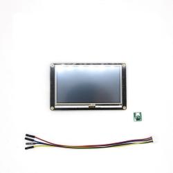 "LCD HMI de 4.3"" cu Touch Screen Nextion Enhanced NX4827K043"