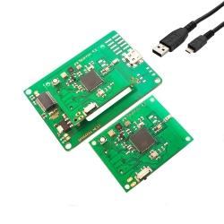 Kit Două Noduri Senzoriale Wireless Sparrow şi Placă Programare Sparrow Nest
