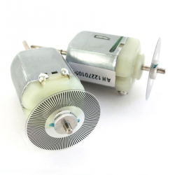 DC Motor with Speed Encoder Disk