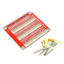 Raspberry Pi 3B GPIO Connector Multiplier Board