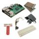 Raspberry Pi 3 Model B + 2.5 A 5.1 V Power Supply + GPIO Adapter (pack)