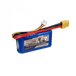 LiPo Turnigy 1300 mAh 2S 20C Battery (7.4 V)