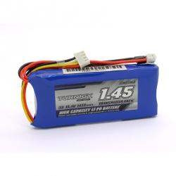 LiPo Turnigy 11.1 V/ 1450 mAh/ 3S Battery - For Broadcaster