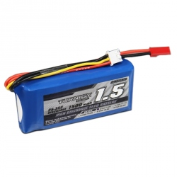 LiPo Turnigy 1500 mAh 2S 25C Battery (7.4 V)