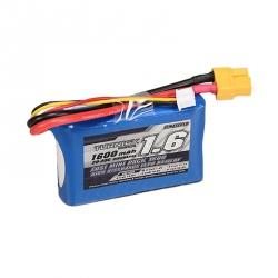 Acumulator Turnigy 1600 mAh 2S 20C pentru Losi Mini (LOSB1212, 7.4 V)