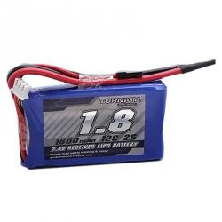 LiPo Turnigy 1800 mAh 2S 12C 7.4 V Battery - For Receiver