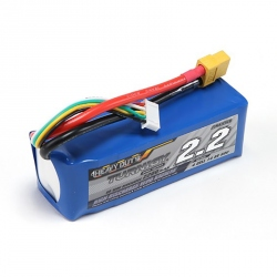 LiPo Turnigy Heavy Duty 2200 mAh 4S 60C Battery (14.8 V)