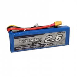 LiPo Turnigy 2650 mAh 3S 20C Battery (11.1 V)
