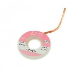 2 mm 1.5 m Desoldering wire