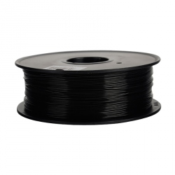 1.75 mm, 1 kg PLA Filament For 3D Printer - Extra Black