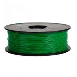 1.75 mm, 1kg PLA Filament For 3D Printer - Dark Green