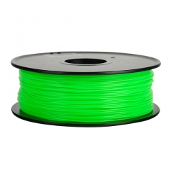 1.75 mm, 1kg PLA Filament For 3D Printer - Fluorescent Green
