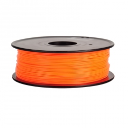1.75 mm, 1 kg PLA Filament for 3D Printer - Orange