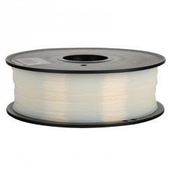 1.75 mm, 1kg PLA Filament For 3D Printer - Transparent