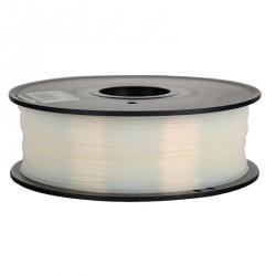 1.75 mm, 1 kg PLA Filament for 3D Printer - Transparent