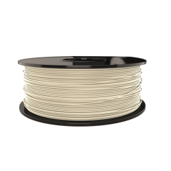1.75 mm, 1kg PLA Filament For 3D Printer - White Yvory
