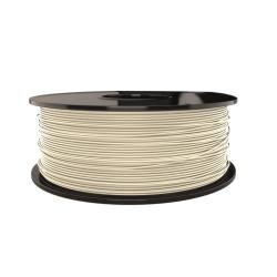 Filament pentru Imprimanta 3D 1.75 mm PLA 1 kg - Alb Fildeş