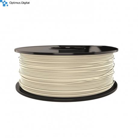 1.75 mm, 1kg PLA Filament For 3D Printer - White Yvory