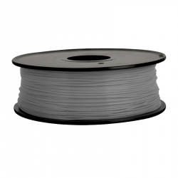 Filament pentru Imprimanta 3D 1.75 mm PLA 1 kg - Gri Deschis