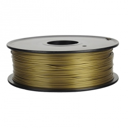 1.75 mm, 1kg PLA Filament For 3D Printer - Bronze Gold