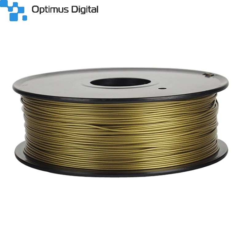 mm 1kg pla filament for 3d printer bronze gold. Black Bedroom Furniture Sets. Home Design Ideas