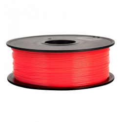 1.75 mm, 1kg PLA Filament For 3D Printer - Transparent Red