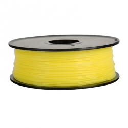 1.75 mm, 1kg PLA Filament For 3D Printer - Transparent Yellow