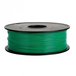 1.75 mm, 1kg PLA Filament For 3D Printer - Transparent Green