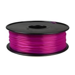 1.75 mm, 1kg PLA Filament For 3D Printer - Transparent Purple