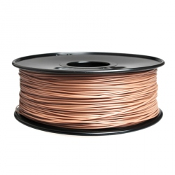 1.75 mm, 1kg PLA Filament For 3D Printer - Skin Color - Dark Tone