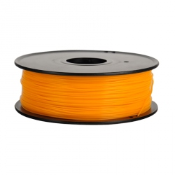 1.75 mm, 1 kg ABS Filament For 3D Printer - Fluorescent Orange