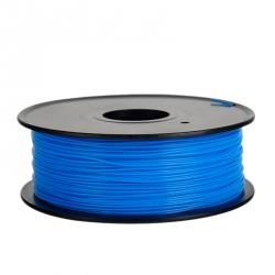 1.75 mm, 1 kg ABS Filament For 3D Printer - Fluorescent Blue