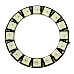 WS2812 RGB LED Ring (16 LEDs)