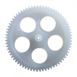 M0.3 70T Plastic Gear with 0.95 mm Hole