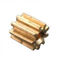 Roată Dințată din Metal M0.3 9T cu Gaură de 0.7 mm
