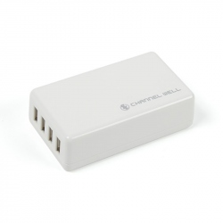 USB with 4 Ports 25W 5A Charger (EU Plug)