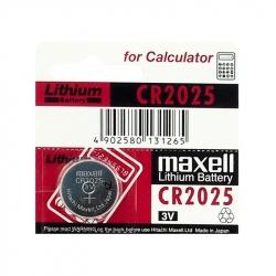 Baterie cu Litiu CR2025 Maxell