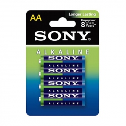 LR6 (AM3L-B4D) 4 Sony Alkaline Battery Set