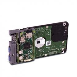 PiDrive cu HDD 314 GB Western Digital şi Raspberry Pi Zero