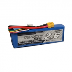 LiPo Turnigy Battery 2650 mAh 4S 20C (14.8 V)