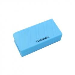 Carcasa Albastră din Silicon pentru Acumulatori LiPo (1000-1300mAh 3S) 74 x 36 x 21 mm